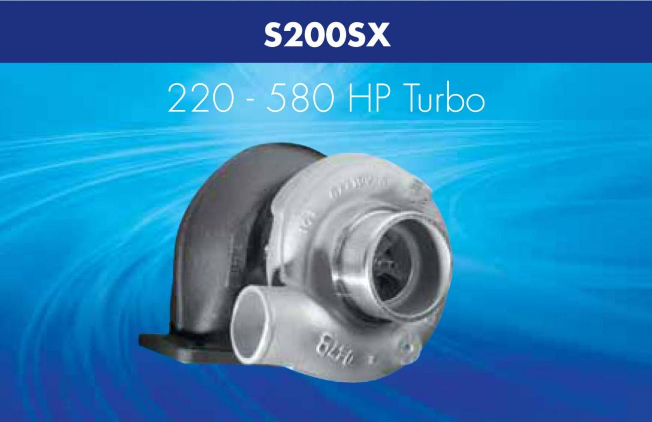 Turbosprężarka Borg Warner AirWerks S200SX - GRUBYGARAGE - Sklep Tuningowy